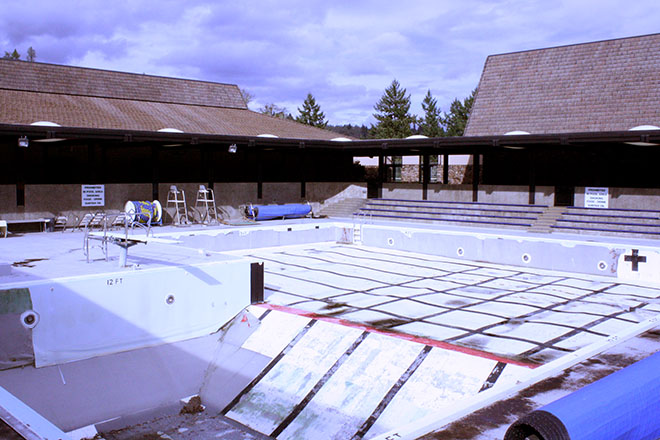 The pool has been in a serious state of disrepair for several years and has been closed since 2011 due to the need of repairs and lack of funding.