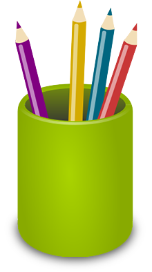 Pencil Holder clipart